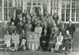Participants from Wilton Park's 179th conference in 1976 including Alec Douglas-Home, former British Prime Minister
