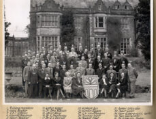 Conference participants who attended the first event at Wiston House