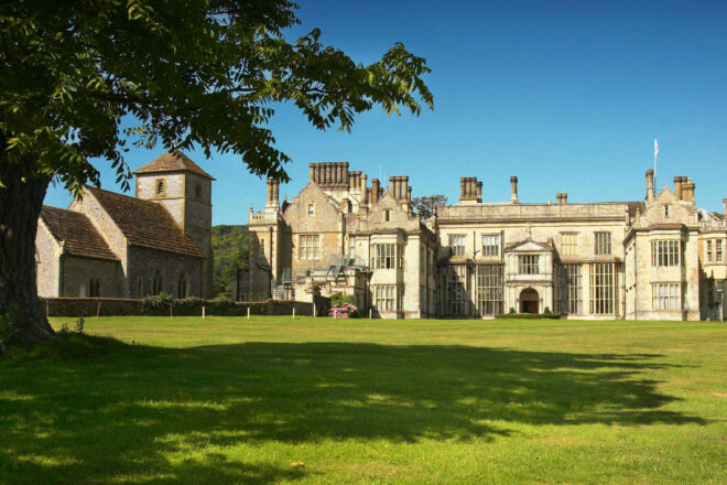 Front of Wiston House