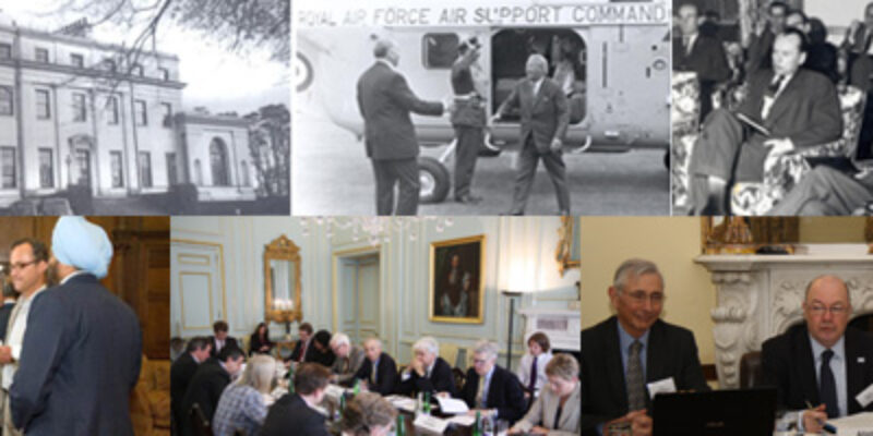 Montage of Wilton Park images throughout history