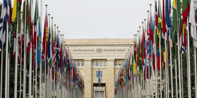 Palais des Nations, European headquarters of the United Nations in Geneva
