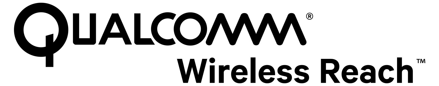 Qualcomm - Wireless Reach