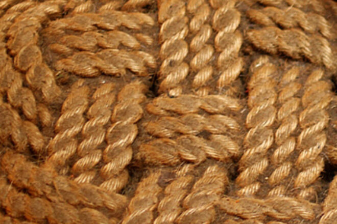 A knot of rope