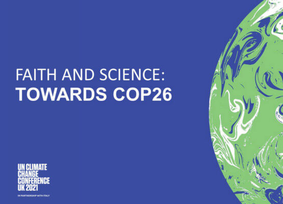 The logo of the UN Climate Change Conference (COP26)
