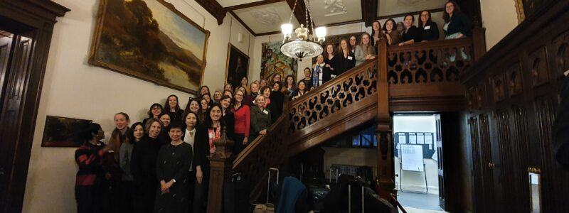 A photo of female participants at the 2019 nuclear non-proliferation conference at Wilton Park.