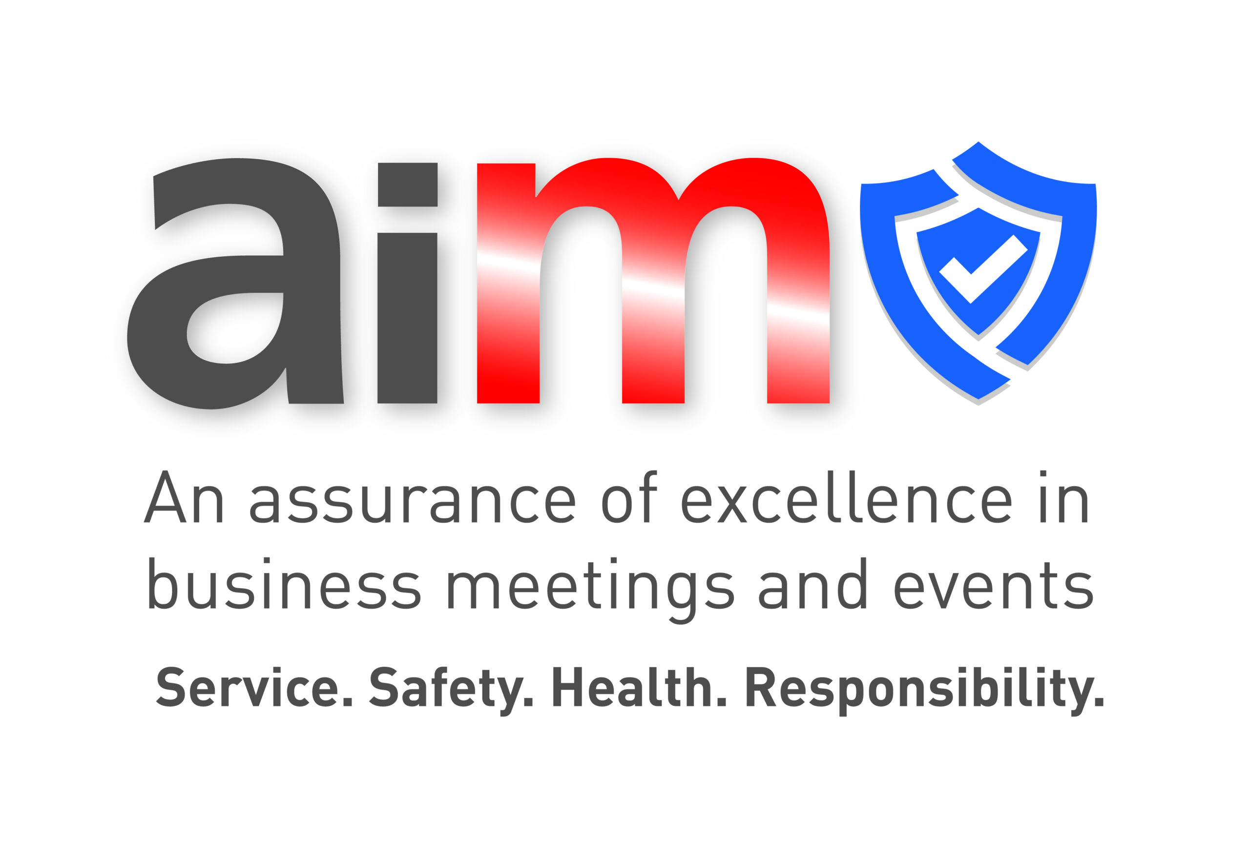 The AIM Secure logo, an assurance of excellence in business meetings and events.