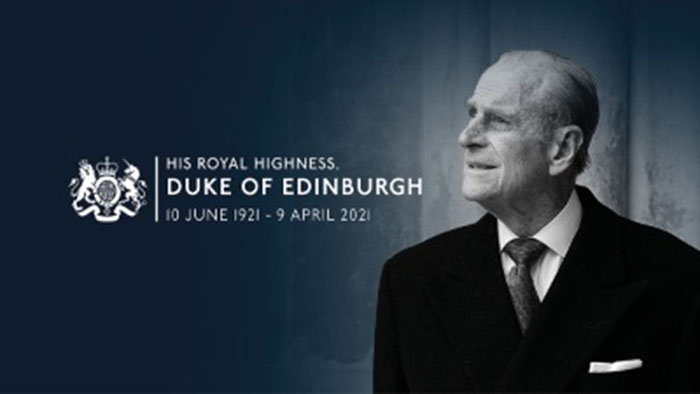 HRH Duke of Edinburgh, 10 June 1921 - 9 April 2021