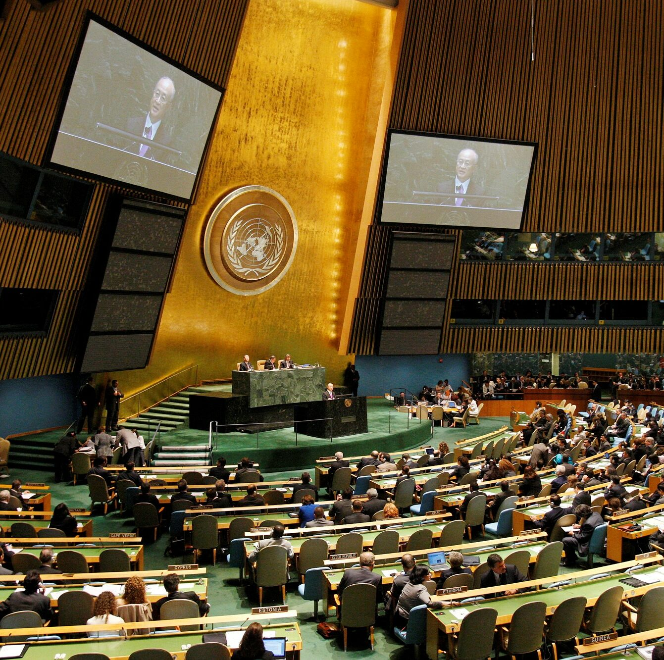 The Review Conference for the Treaty on the Non-Proliferation of Nuclear Weapons held at United Nations Headquarters in New York City