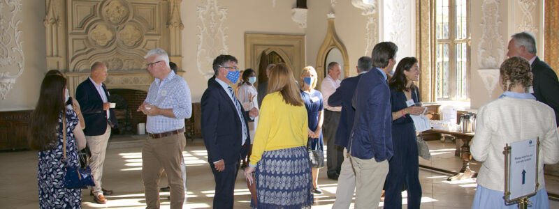 Networking at Wiston House