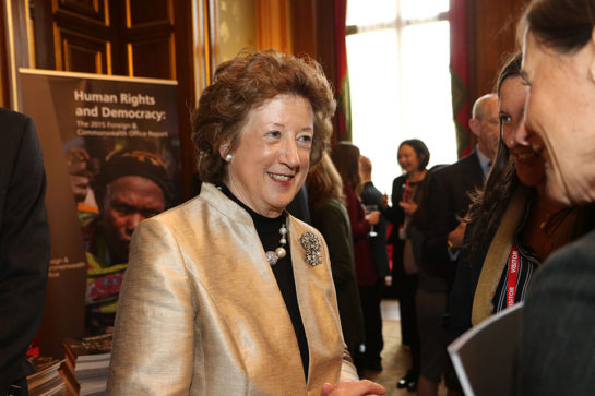 Baroness Anelay, Minister for Human Rights