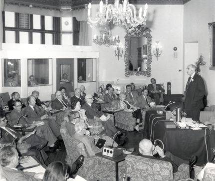 History - early conference