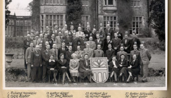 The first Wilton Park event held at Wiston House in 1951