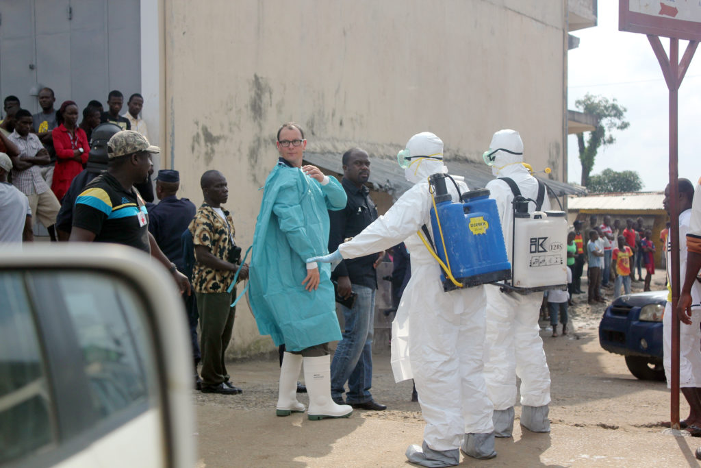 The 2014-2015 Ebola outbreak: lessons for response to a deliberate event (WP1496)