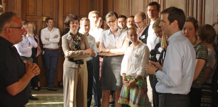 Young British and German high-flyers discuss the future of Europe at British-German Forum