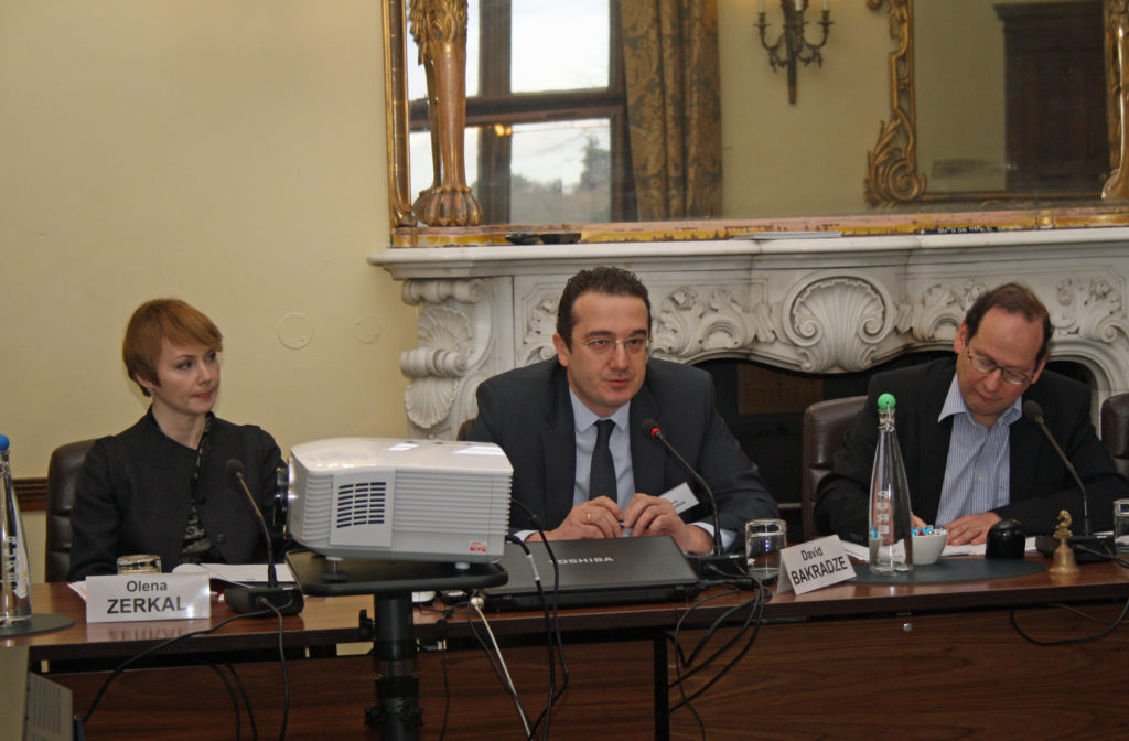 Olena Zerkal, David Bakradze, Eastern partnership, EU, Europe, European Commission, European Union, Russia,