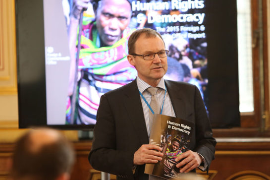 Rob Fenn, Head of the FCO's Human Rights and Democracy Department