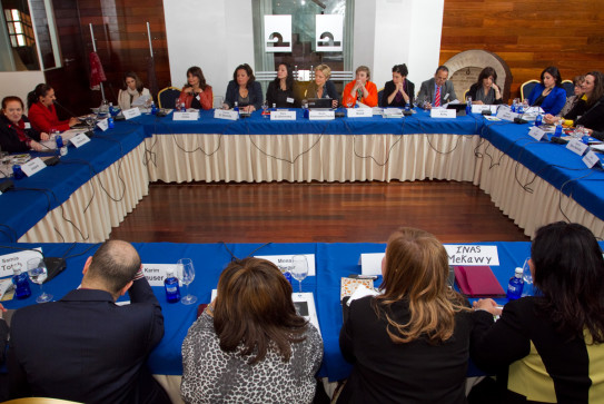Particiants at our conferenc on 'Women in the private sector in the Middle East and North Africa' in Cordoba, Spain, March 2014