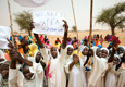 UNAMID opens a new clinic and three schools for the community in Insuro (North Darfur)