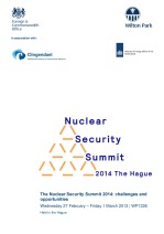 The Nuclear Security Summit 2014: challenges and opportunities [WP1226]