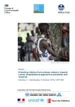 Protecting children from extreme violence: towards a more comprehensive approach to prevention and response (WP1495)