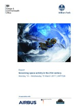 Governing space activity in the 21st century (WP1526)