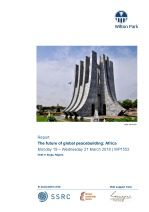 The future of global peacebuilding: Africa (WP1552)
