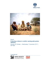 Protecting civilians in conflict: working with partner militaries (WP1580)