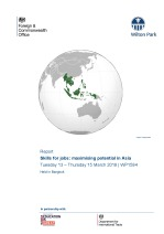 Skills for jobs: maximising potential in Asia (WP1584)