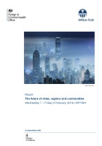 The future of cities, regions and communities (WP1594)