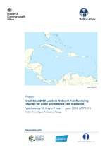 Caribbean2030 Leaders Network 4: Influencing change for good governance and resilience (WP1601)