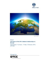 The future of the UK's bilateral relationships in Europe (WP1603)