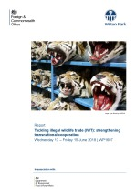 Tackling illegal wildlife trade (IWT): strengthening transnational cooperation (WP1607)