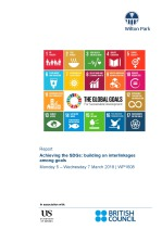 Achieving the SDGs: building on interlinkages among goals (WP1608)