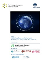 Artificial intelligence and global health (WP1626)