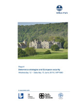 Deterrence strategies and European security (WP1690)