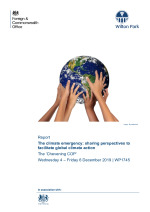 The climate emergency: sharing perspectives to facilitate global climate action (WP1745)