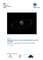 Operating in space: current multilateral policy issues and challenges (WP1758)