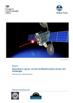 Operating in space: current multilateral policy issues and challenges (Central Asia and Middle East) (WP1796)
