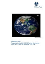Prospects for the 2011 Review Conference of the Biological and Toxin Weapons Convention [WP1046]