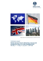 British German Forum <br>Europe's place in a challenging world [WP1155]