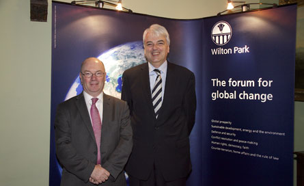 Alistair Burt and Richard Burge