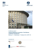 The future of the Chemical Weapons Convention and the 2013 Review Conference [WP1178]