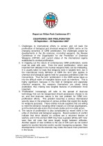 Countering Chemical and Biological Weapons (CBW) proliferation [WP871]